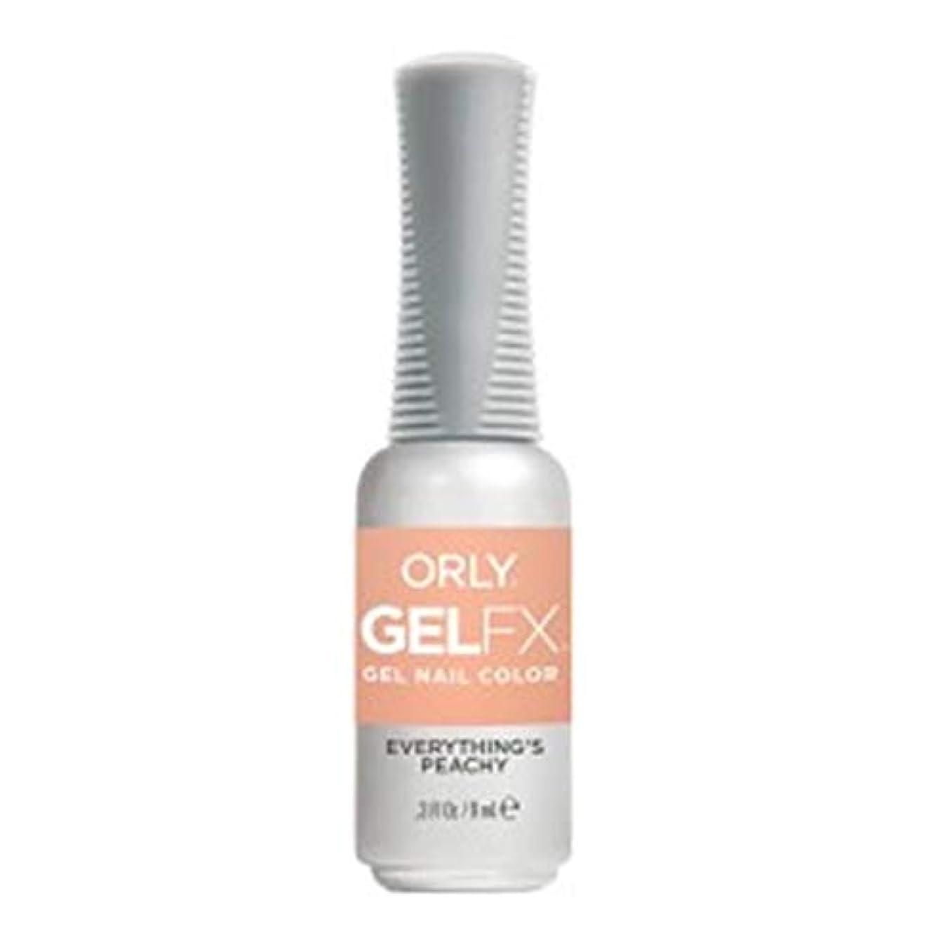 特権的要求する深遠ORLY Gel FX - Radical Optimism 2019 Collection - Everything's Peachy - 0.3 oz / 9 mL