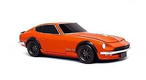 [Cassette Car Mouse]日産フェアレディ 240Z(NISSAN Fairlady Z) ソリッドオレンジ  ワイヤレスマウス