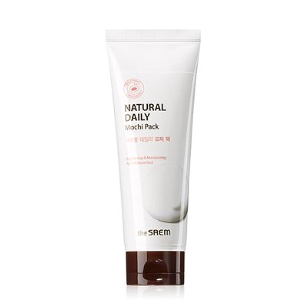 THE SAEM Natural Daily Mochi Pack 120g / ザセム ナチュラルデイリーモチーフパック [NEW] [並行輸入品]