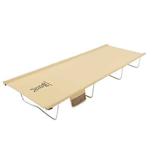 DOPPELGANGER(ドッペルギャンガー) アウトドア ワイドキャンピングベッド 専用キャリングバッグ付属 寝返りもラクラク 77cmのゆったり幅 CB1-100T