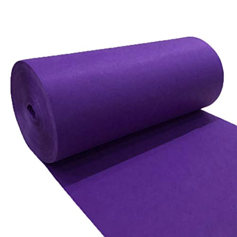使い捨てラベンダーカーペット、ステージウェディング展示Tステージバンケットカーペット CONGMING (色 : Purple, サイズ さいず : 1.2m*20m)