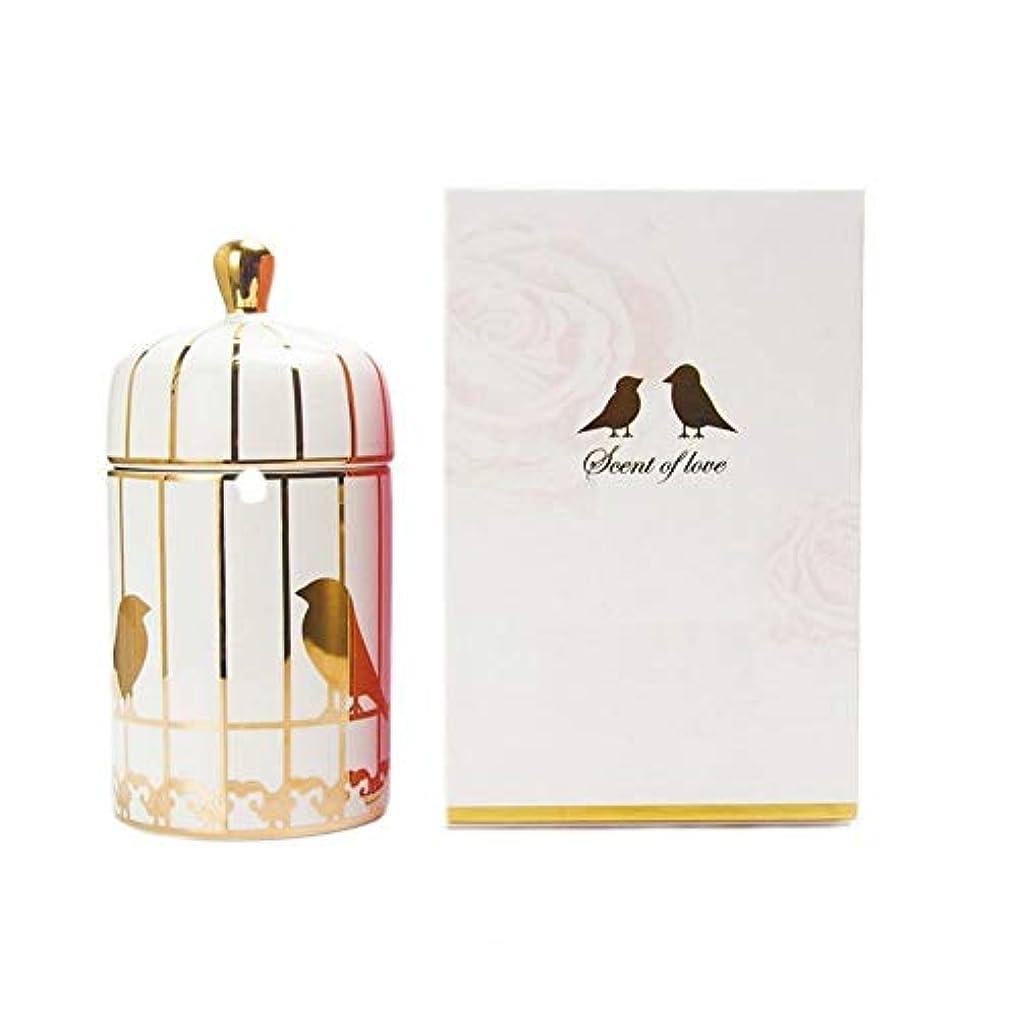 説明ミュウミュウ湿地ACAO パラフィン香料入りキャンドルバードケージカップキャンドルキャンドル (色 : 86*H190MM)