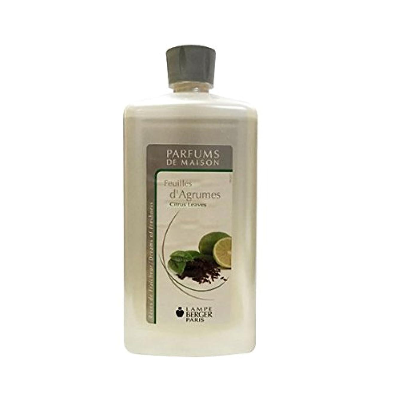 ベテランレーザ試験ランプベルジェオイル(シトラスリーブス)Feuilles d'Agrumes / Citrus Leaves