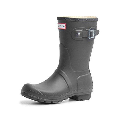 (ハンター) HUNTER オリジナルショート サイドバックル ブーツ WFS1000RMA 02.ブラック UK5.0(24cm) [並行輸入品]