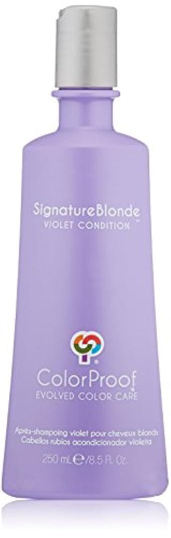 フロント責め義務づけるColorProof Evolved Color Care ColorProof色ケア機関署名ブロンドコンディショナー、8.5 FL。オズ。 8.5オンス バイオレット