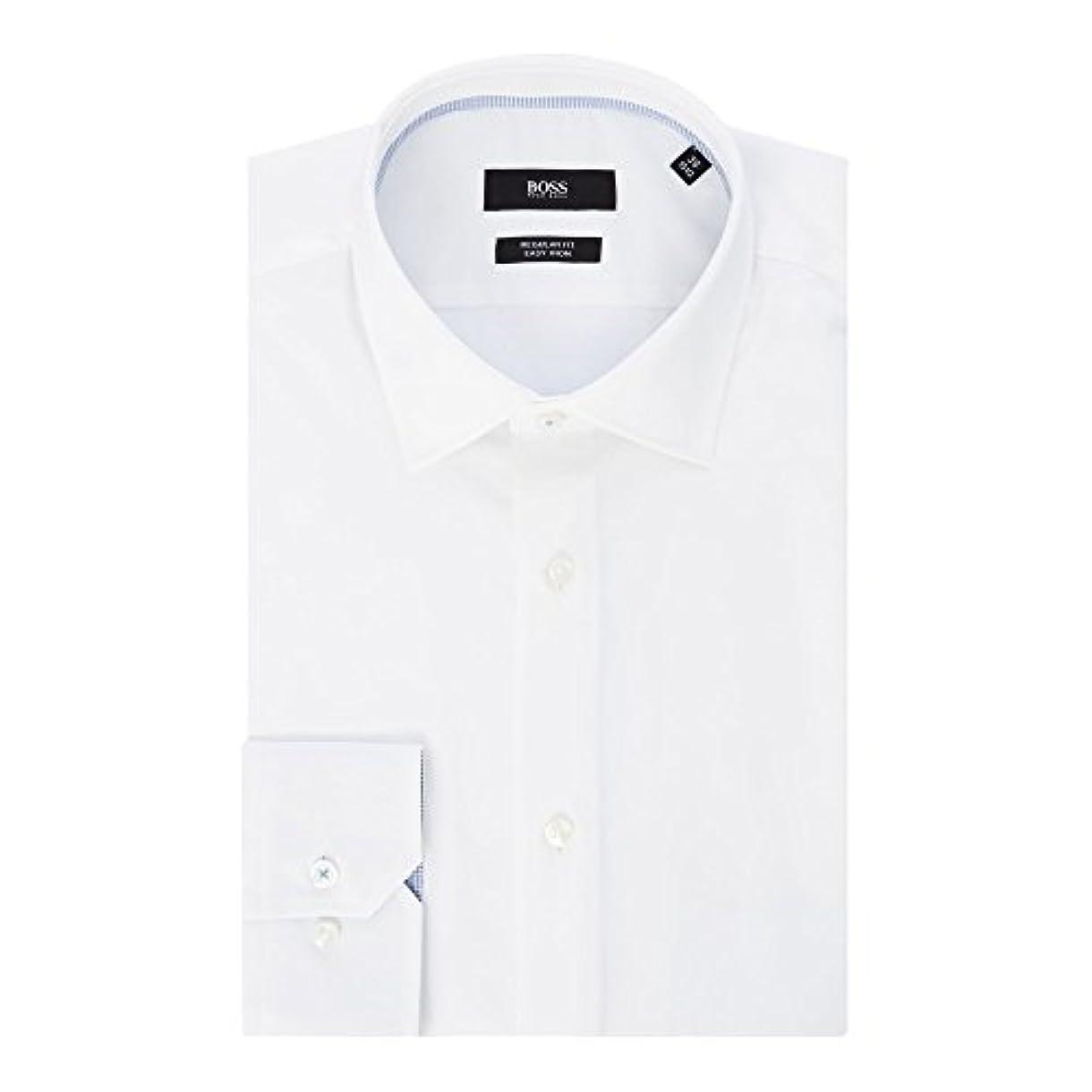 行商有名追加する(ヒューゴ ボス) Hugo Boss メンズ トップス シャツ Gelson Regular Fit Contrast Trim Shirt [並行輸入品]
