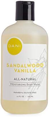 Moisturizing Body Wash by DANI Naturals - Organic Aloe Vera & Natural Glycerine - Paraben & Sulfate Fr