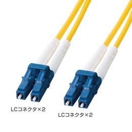 サンワサプライ HKB-LCLC1-40L 光ファイバケーブル(LC・LCコネクタ、40m)