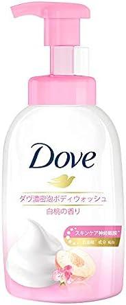 Dove Peach Self-Foaming Cloud Foam Body Wash, 400ml
