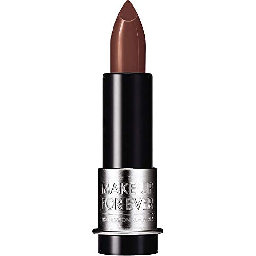 ネーピアアトムヒゲ[MAKE UP FOR EVER] これまでアーティストルージュマット口紅3.5グラムのM104を補う - ココア - MAKE UP FOR EVER Artist Rouge Mat Lipstick 3.5g M104 - Cocoa [並行輸入品]