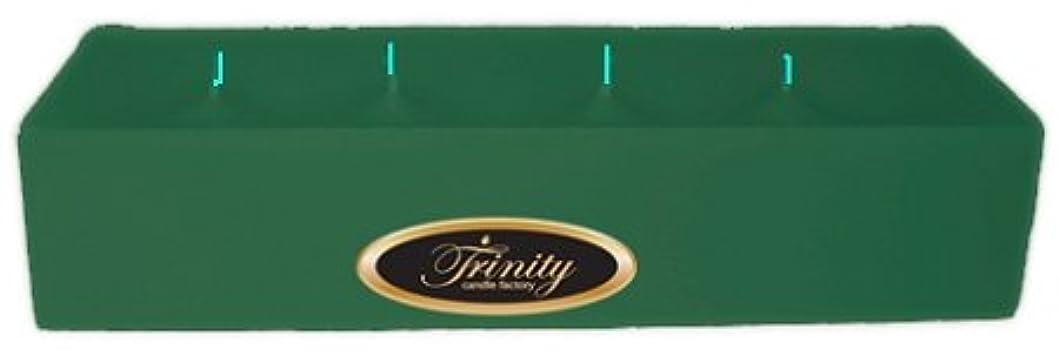 マーベル硬化する配偶者Trinity Candle工場 – ユーカリ – Pillar Candle – 12 x 4 x 2 – ログ