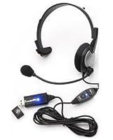 USB高品質デジタルMonuralヘッドセット( Catalog Category :オーディオ/ビデオ/エレクトロニクス/一般Electronics )