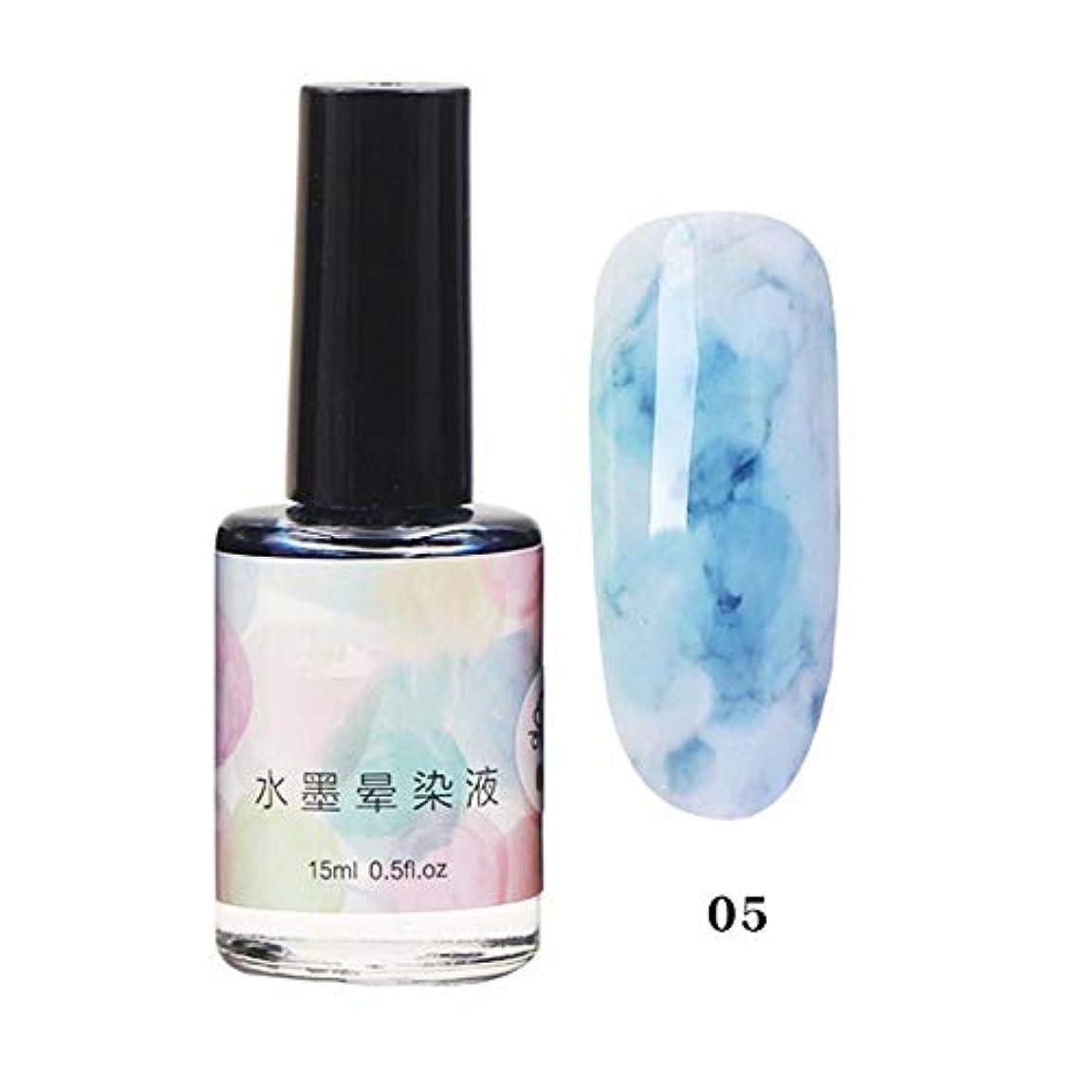 抵抗影平等11色選べる ネイルポリッシュ マニキュア ネイルアート 美しい 水墨柄 ネイルカラー 液体 爪に塗って乾かす 初心者でも簡単に使用できる junexi