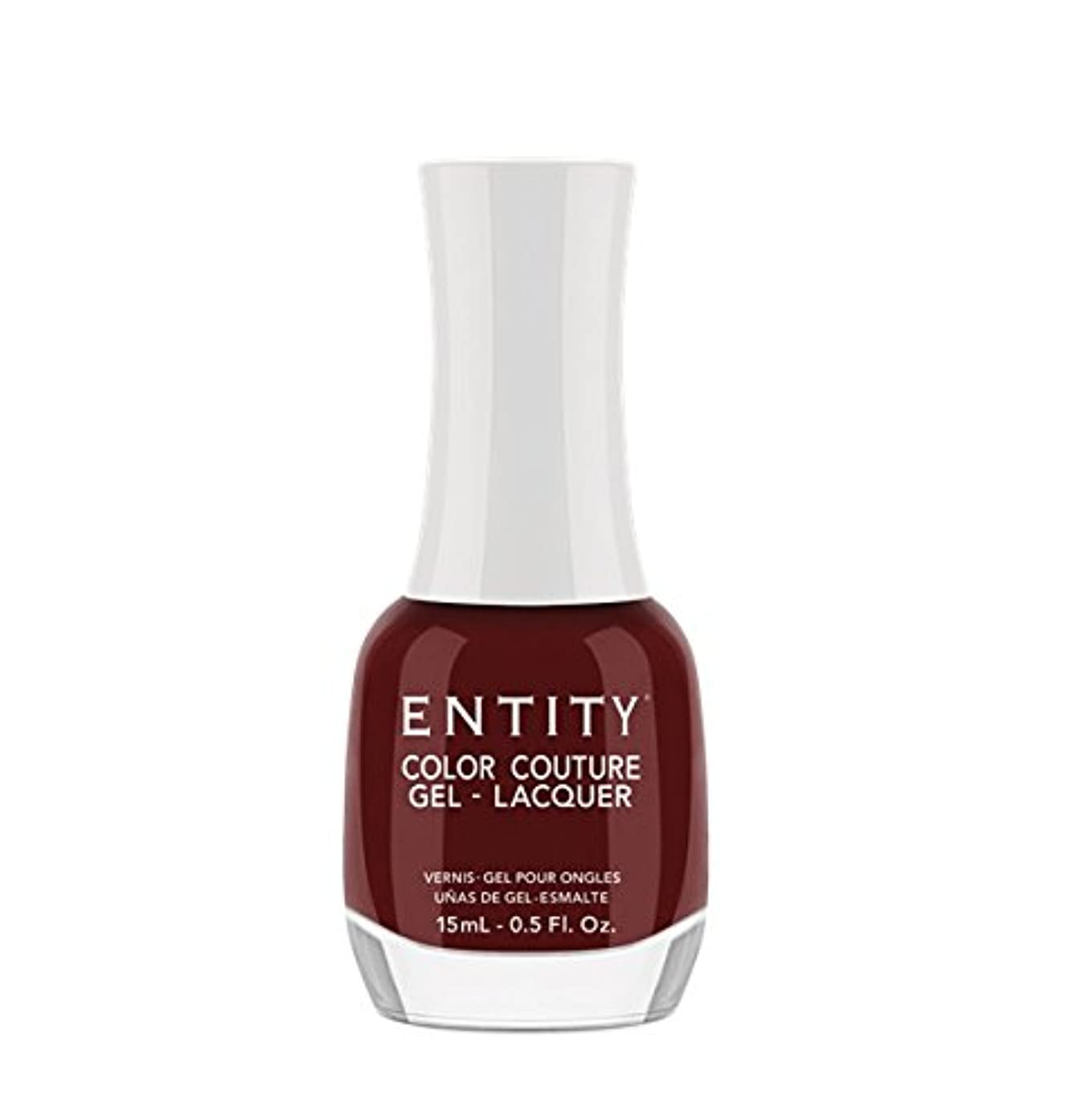 時間簡単に突破口Entity Color Couture Gel-Lacquer - Cabernet Ball Gown - 15 ml/0.5 oz