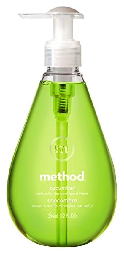 保存多様性水分メソッド(Method) ハンドソープ ジェル キューカンバー 354ml