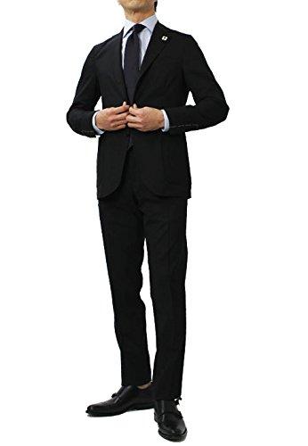 LARDINI Easy Wear パッカブル ウール ストレッチ スーツ