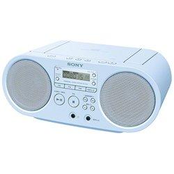 ソニー CDラジオ(ブルー)SONY ZS-S40-L
