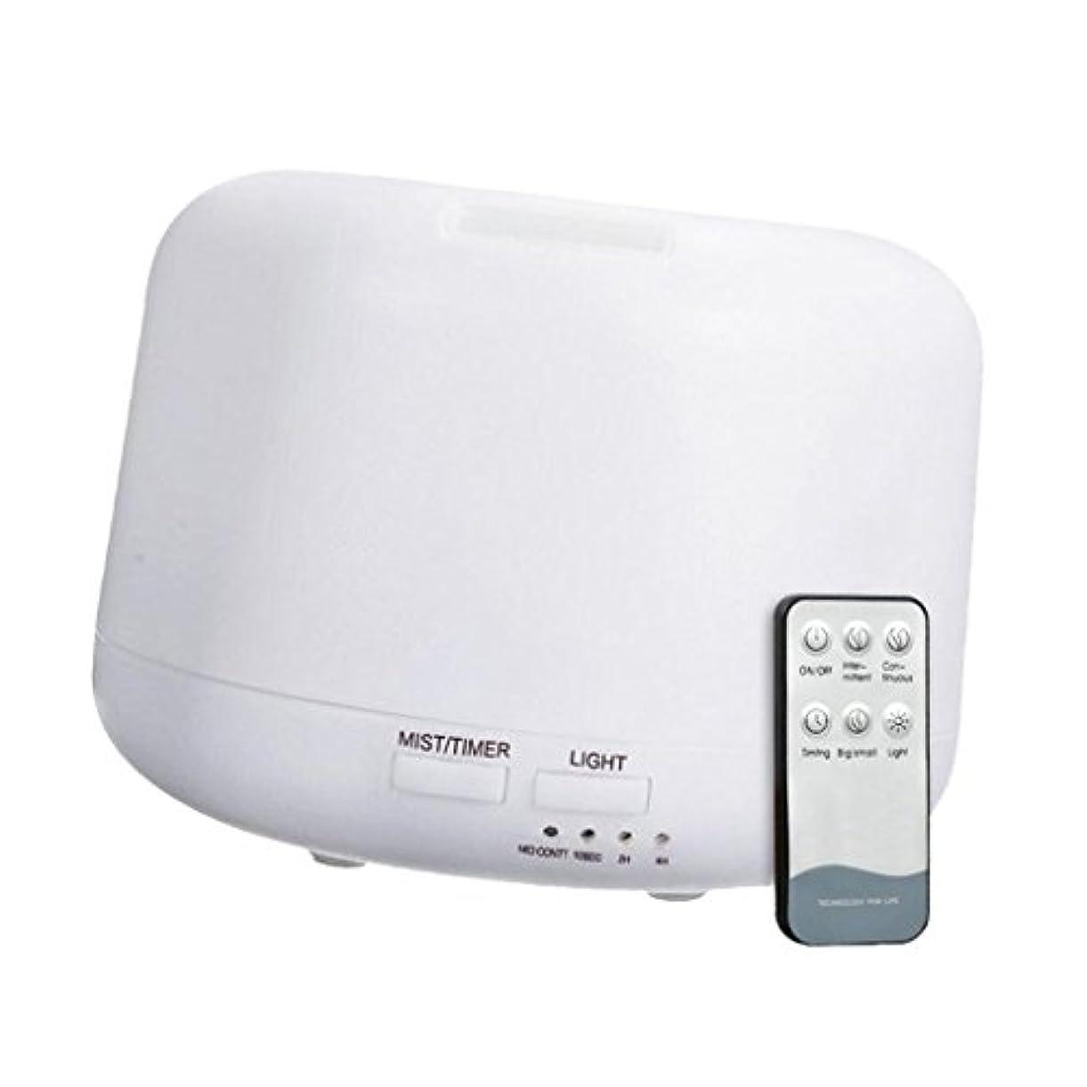 サイト持っている風刺Fenteer 300mL 超音波 加湿器 ディフューザー アニオン リモートコントロール エアフレッシュナー