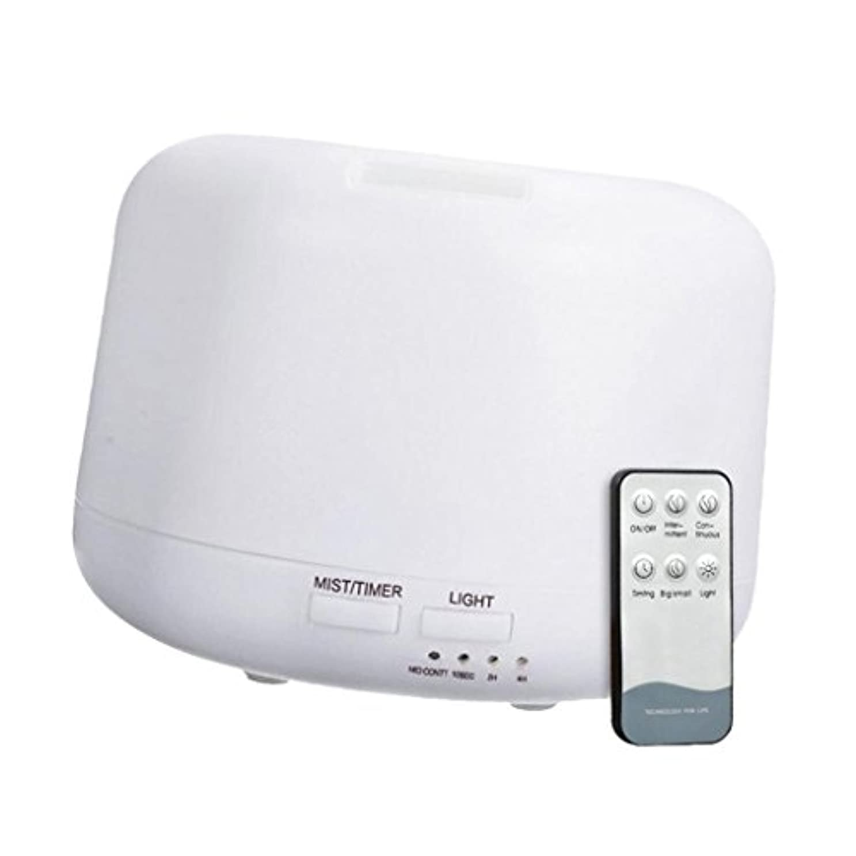 飢重要認可300mL 超音波 加湿器 ディフューザー アニオン リモートコントロール エアフレッシュナー