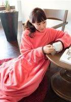 NuKME(ヌックミー) 着る毛布 180cm (男女兼用フ...