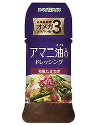 日本製粉 オーマイプラス アマニ油入りドレッシング 和風たまねぎ 150ml×12本入×(2ケース)
