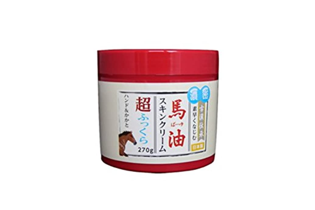 政治家のお茶選択するナチュラルグレース 馬油保湿スキンクリーム 270ml
