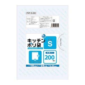 オルディ レジ袋 透明 25×35cm 厚さ0.02mm 食材・お菓子の小分けに使えるポリ袋 PKP-M-150 150枚入