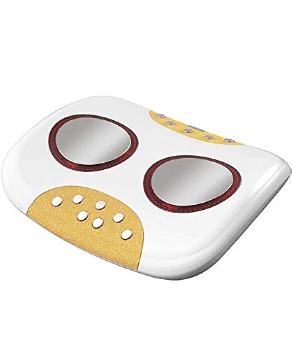 売り手船酔い回路背中の痛みの救済のための遠赤外線+ホット灸中、低周波電気パルスストレッチトラクション健康磁気ストーン付きネックマッサージャー、