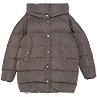 Zara Women Puffer Coat 0518/042 Brown