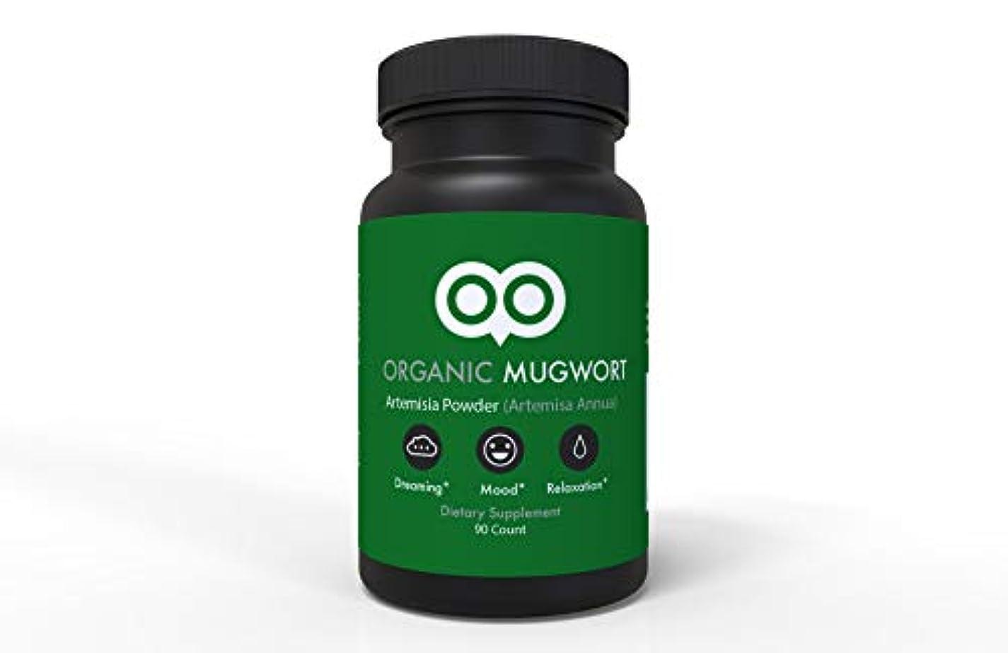 入る不注意プリーツDream Leaf ヨモギ カプセル 450 mg 90 カプセル ビーガン ヨモギ アルテミスサ アヌア