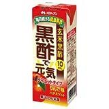 メロディアン 黒酢で元気 ダイエットタイプ200ml紙パック×24本入×(2ケース)
