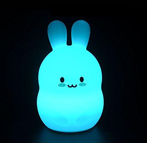 ウサギ ナイトライト 授乳/小さいお子さん ランプ by T...