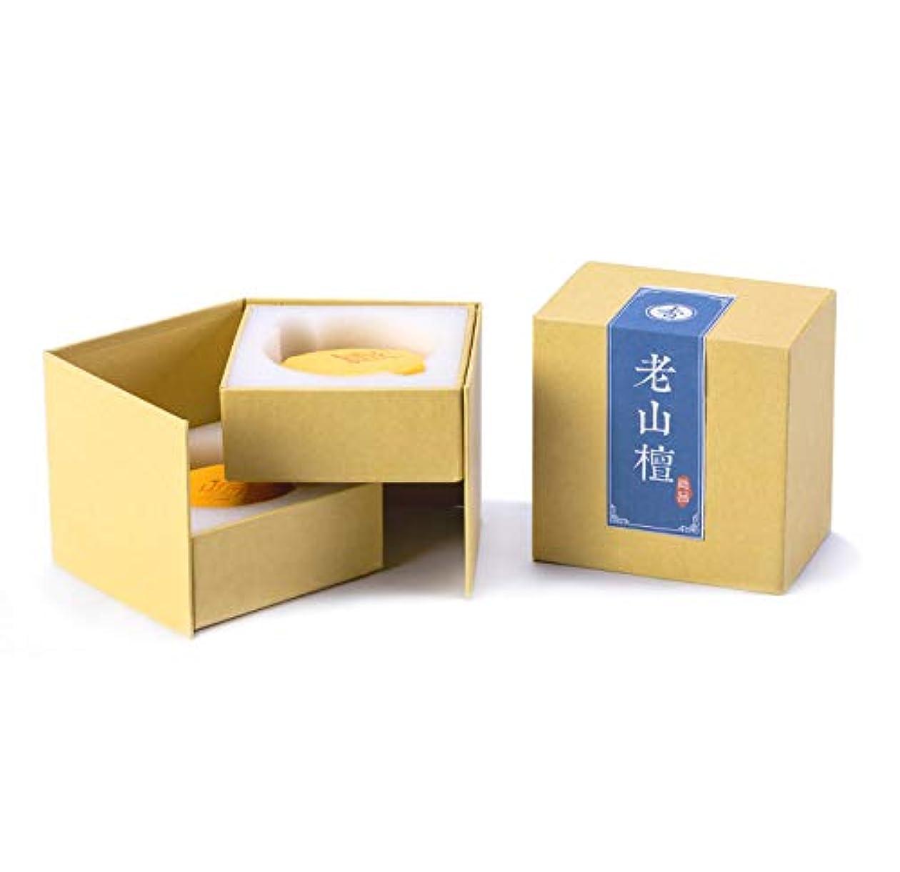 ライム年齢典型的なHwaGui お香 優しい香り 渦巻き線香 4時間盤香 40巻入 白檀