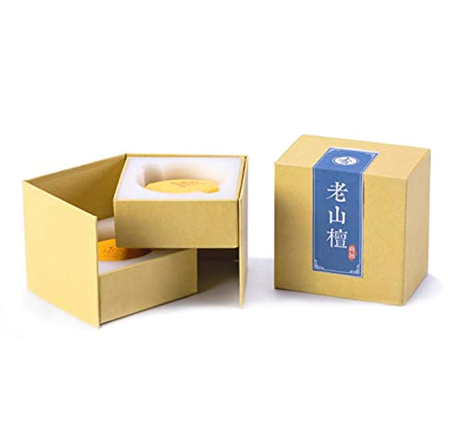 ムスタチオ洗練された狭いHwaGui お香 優しい香り 渦巻き線香 4時間盤香 40巻入 白檀