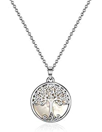 Mestige Willow Tree of Life Necklace with Swarovski® Crystals, Gift