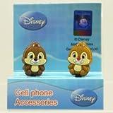 Disney イヤホンジャックアクセサリー ディズニーペアピン チップ & デール F22-DP-E [エレクトロニクス]