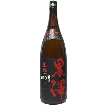 黒澤 純米八〇 うすにごり生【生酛純米】1800ml  長野県