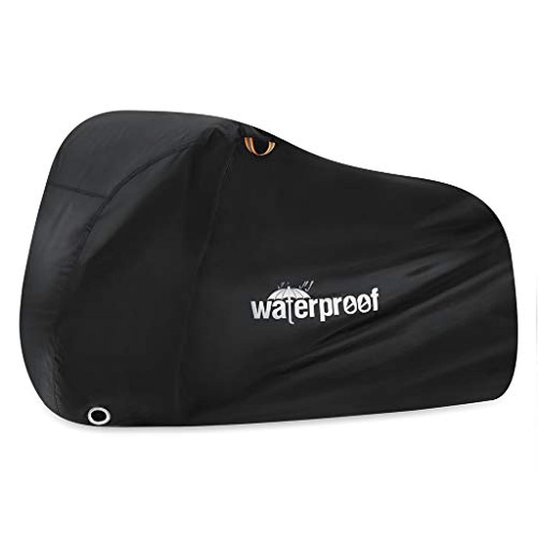永遠に試す隣接bluederst屋外バイクカバーMTBロード自転車プロテクター防水UV保護シェルター