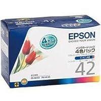 【まとめ 5セット】 EPSON 純正インクカートリッジ 4色セット IC4CL42