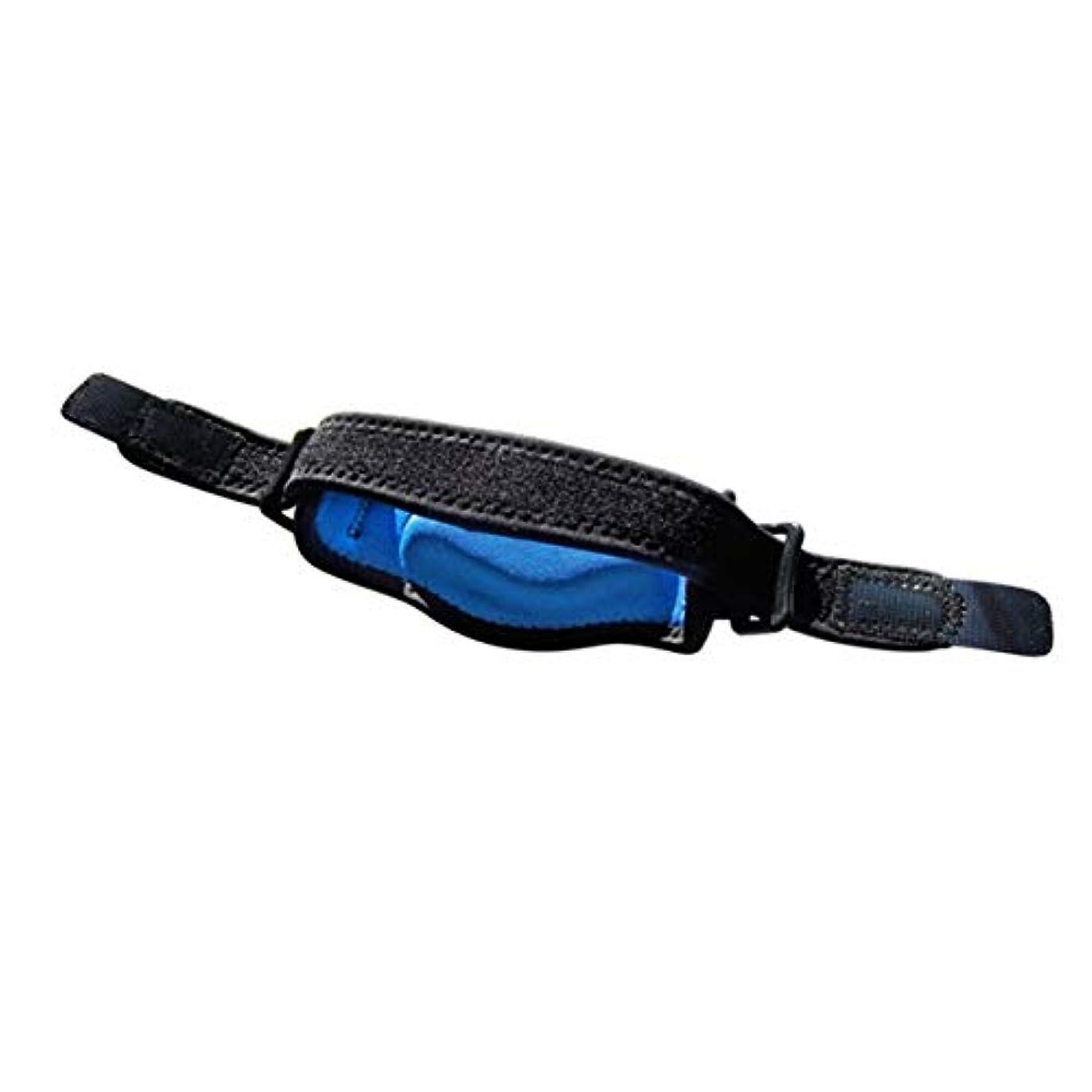 障害実験をするラジエーター調節可能なテニス肘サポートストラップブレースゴルフ前腕痛み緩和