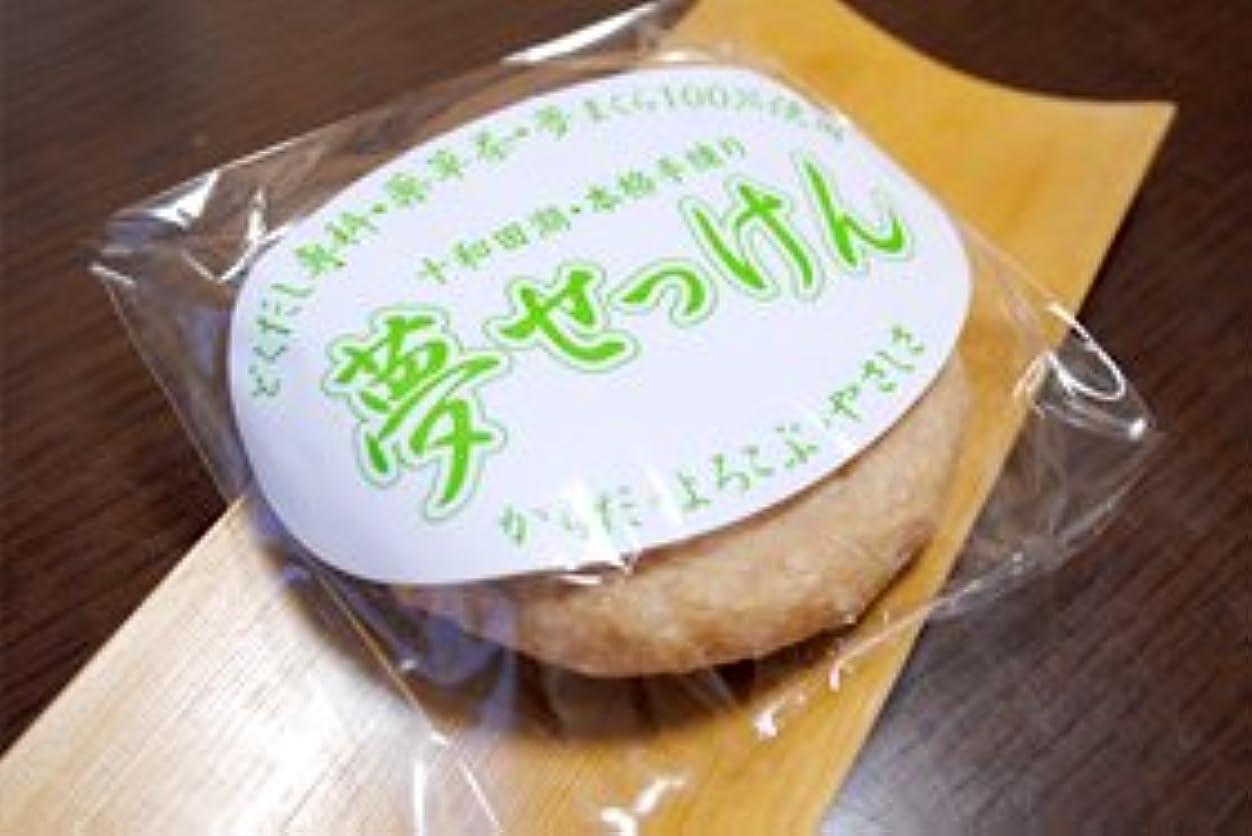 回る言語学ブロック十和田のめぐみ 薬草 夢せっけん
