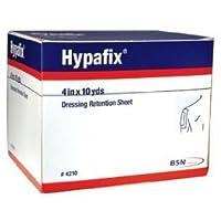 Hypafix Dressing Retention Tape - 4 x 10 yards - - Case of 24 by Hypafix