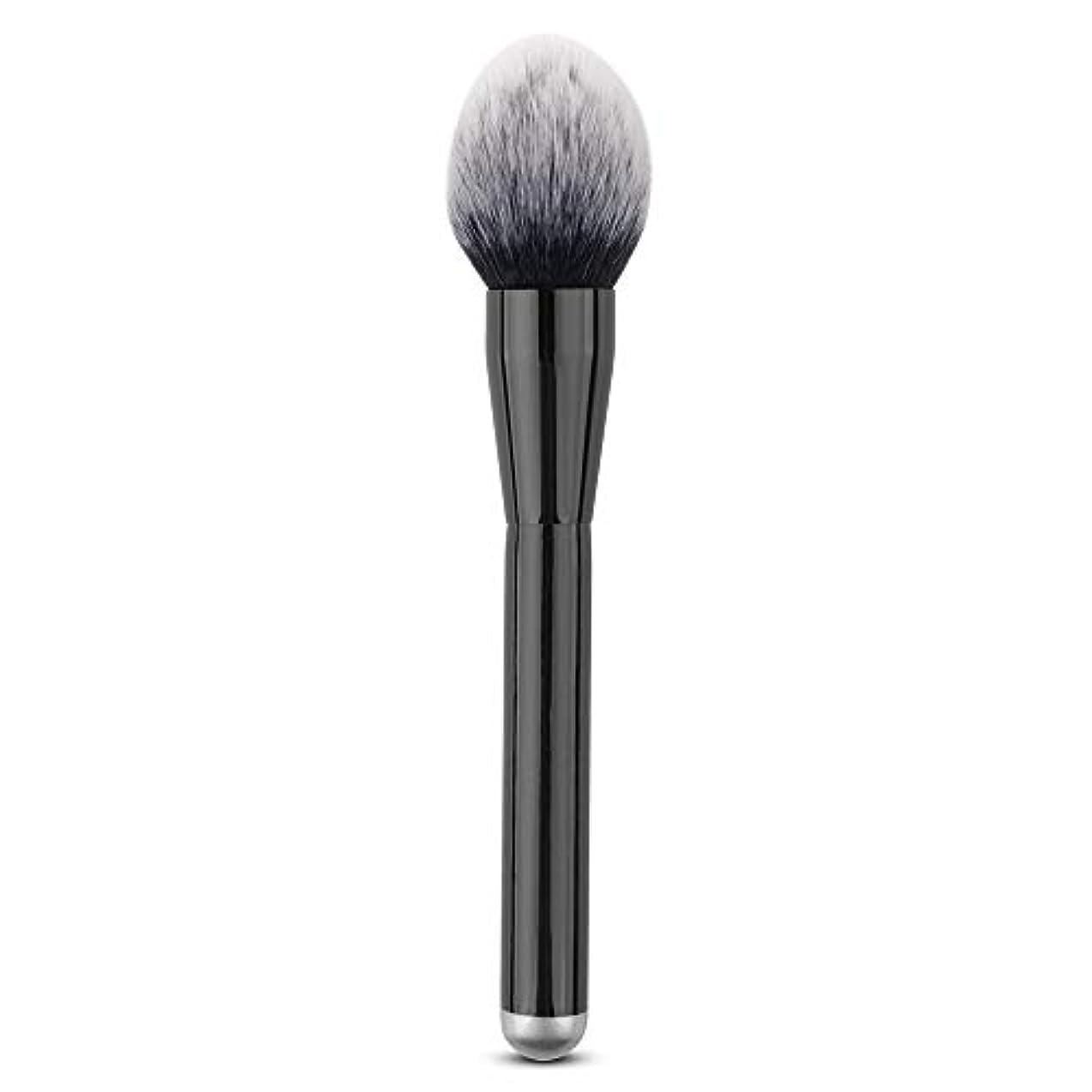 固める軽蔑破産Makeup brushes 単一のブラシ巧みな構造のブラシ柔らかいブラシPerdurableおよび携帯用構造専門の構造のブラシ suits (Color : Black)