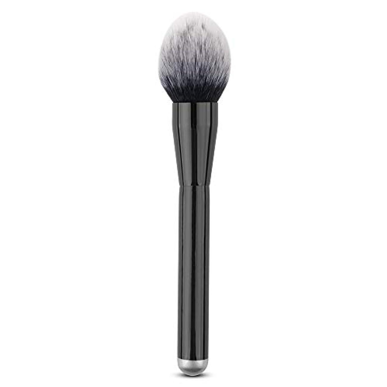 盲信水曜日ヒューバートハドソンMakeup brushes 単一のブラシ巧みな構造のブラシ柔らかいブラシPerdurableおよび携帯用構造専門の構造のブラシ suits (Color : Black)
