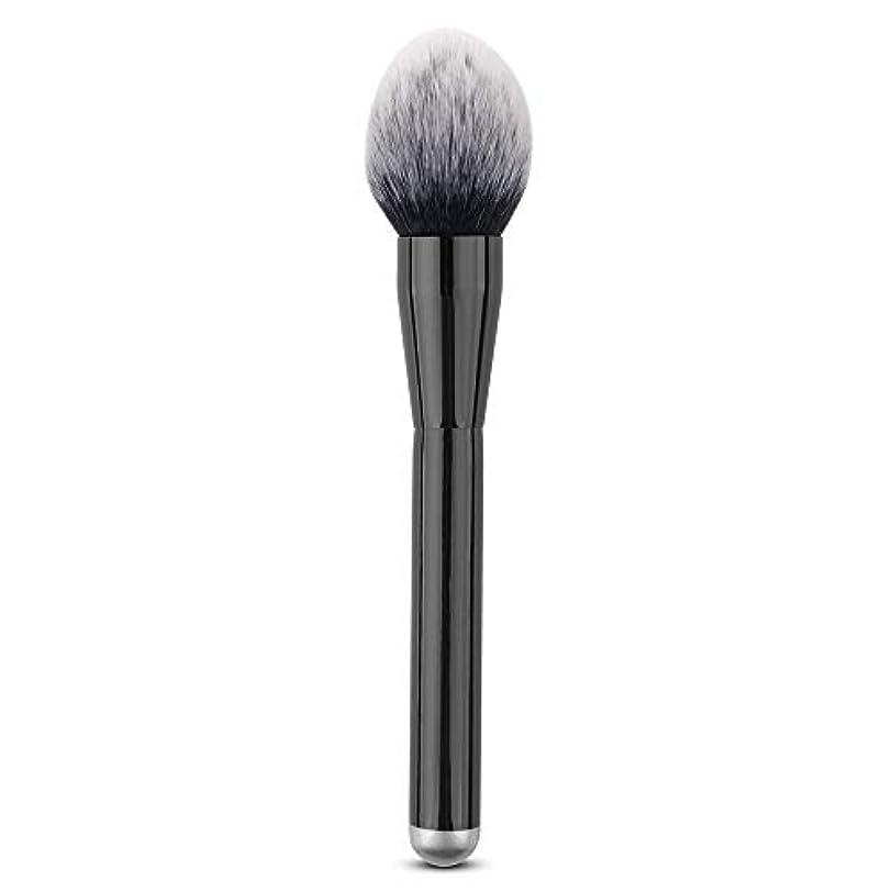荒廃する合併症粘液Makeup brushes 単一のブラシ巧みな構造のブラシ柔らかいブラシPerdurableおよび携帯用構造専門の構造のブラシ suits (Color : Black)