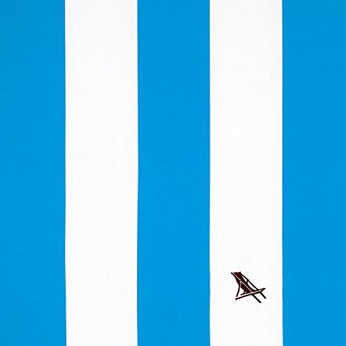 マイクロファイバータオル - ビーチ&トラベル(ブルー・Lサイズ 160x80cm)