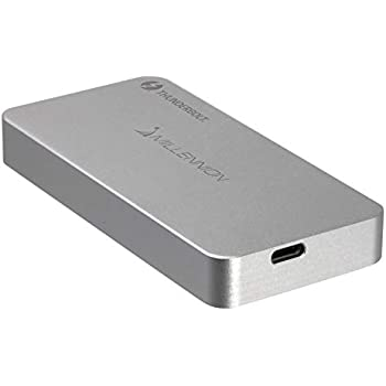 1年保証】Tximista Thunderbolt™3 NVMe M.2 SSD専用オールアルミ製ケース 転送速度2700MB/秒 ケース単品