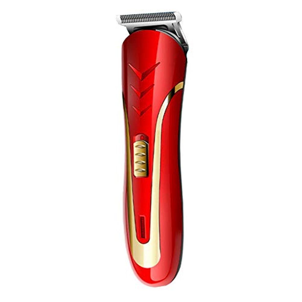 メダル口述溶融QINJLI 電気バリカン、シェービング、脱毛、電気のフェーダー、充電式ライト、制限くし 15.7 * 4.1 cm