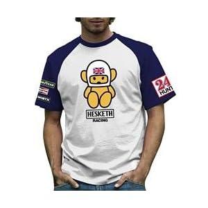 レトロフォーミュラワン Hesketh Mens Contrast T-shirt S