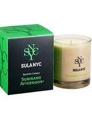 SULA NYC CANDLE グラス キャンドル 190g SURINAME AFTERNOON スリナム?アフタヌーン 燃焼時間:約45時間 スーラNYC